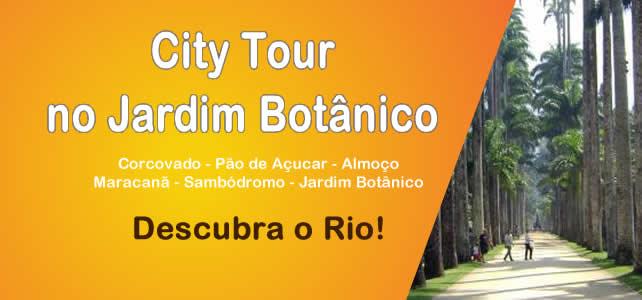 City Tour no Jardim Botânico