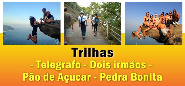 Trilhas e Caminhadas Ecológicas no RJ